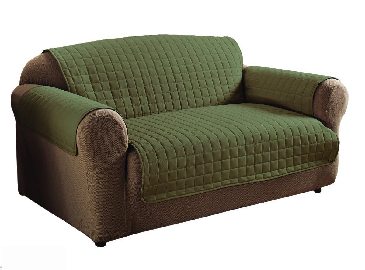 sage sofa slipcovers what is microfiber made of innovative textile colour loveseat