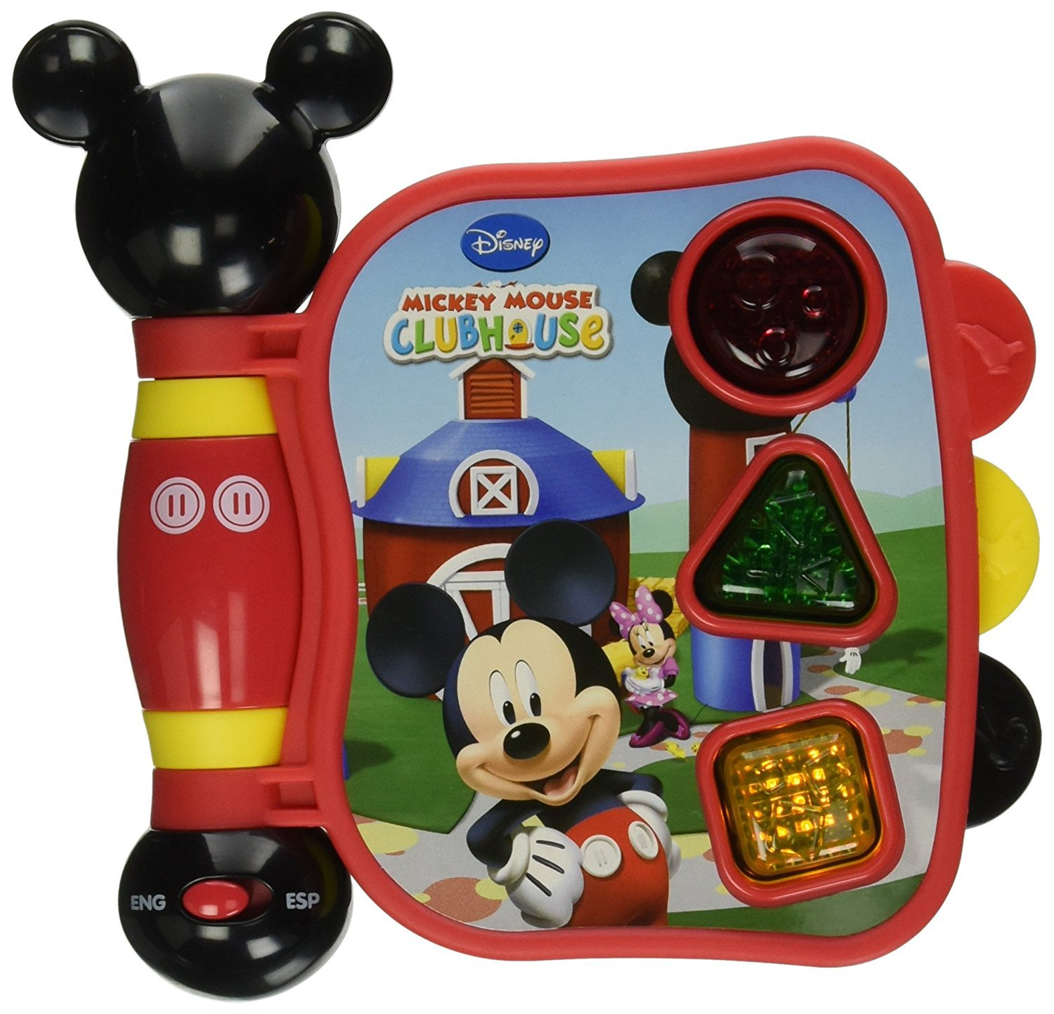 Disney Mickey Mouse Clubhouse First Learning Book Shapes