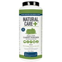 Natural Care Flea and Tick Carpet Powder, 9 oz for DOGS ...