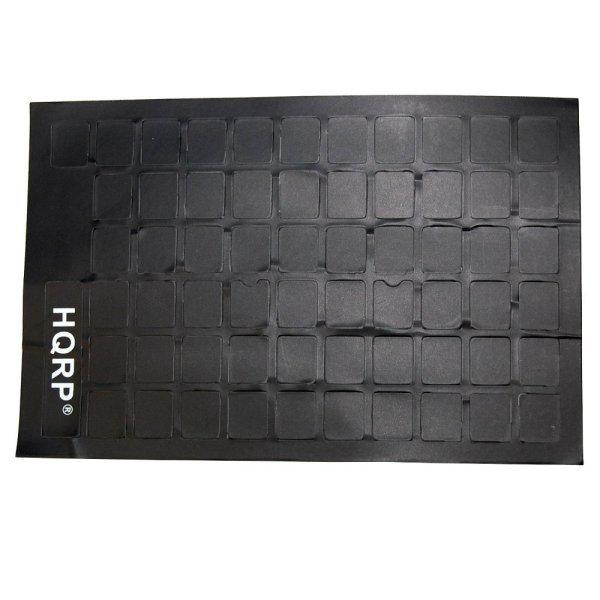 Hqrp Blank Keyboard Stickers Transparent Black