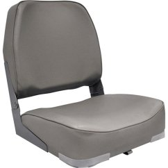 Canoe Chairs Walmart Chair Covers And Tablecloths For Sale Attwood Econo Low Back Boat Seat Gray