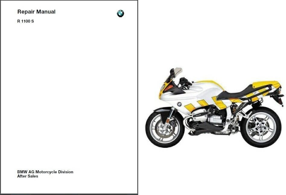 99-05 BMW R1100S Service Repair Workshop Manual CD