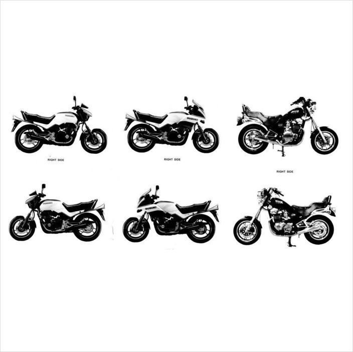 83-85 Suzuki GS550E GS550ES GS550L Service Repair Manual