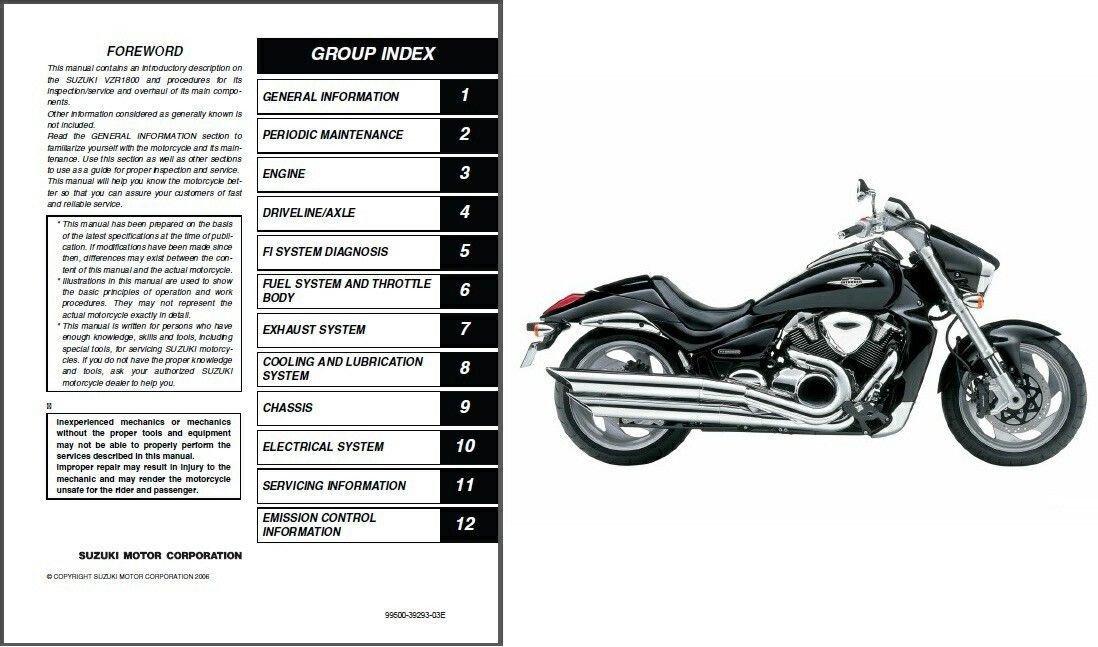 06-09 Suzuki VZR1800 Intruder M1800R / Boulevard M109R