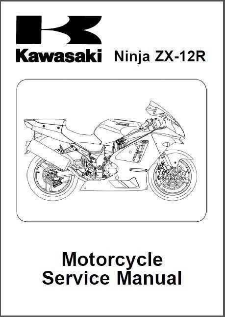 2002-2003-2004-2005-2006 Kawasaki Ninja ZX-12R ( ZX1200