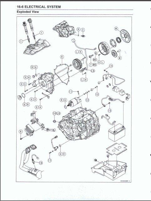 2018-2019 Kawasaki Ninja 400 Service Repair Manual on a CD