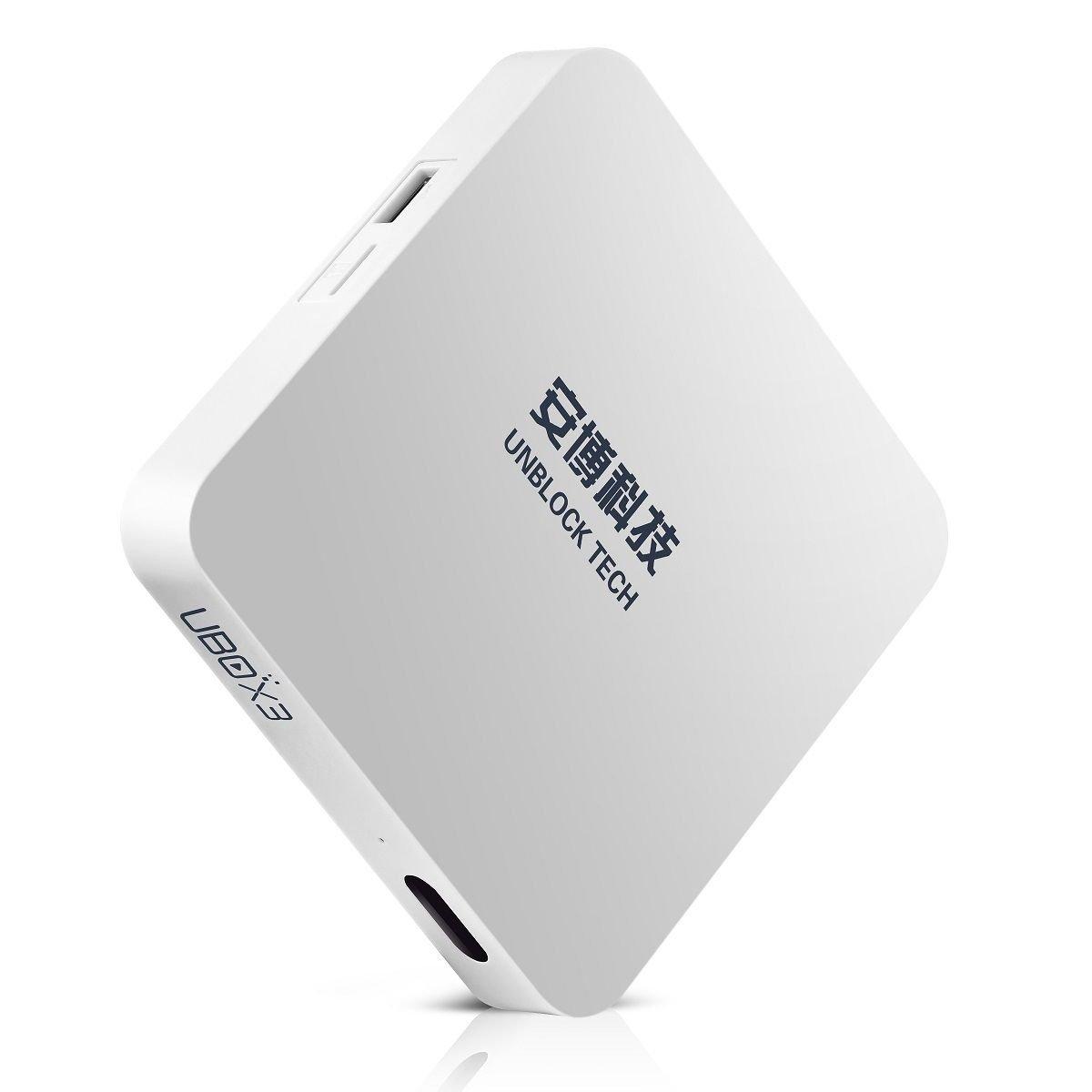 UBOX3 Unblock Tech TV Box Gen3 IPTV 安博盒子 UBOX S900 Pro 16G Fun中港臺網絡電視機頂盒