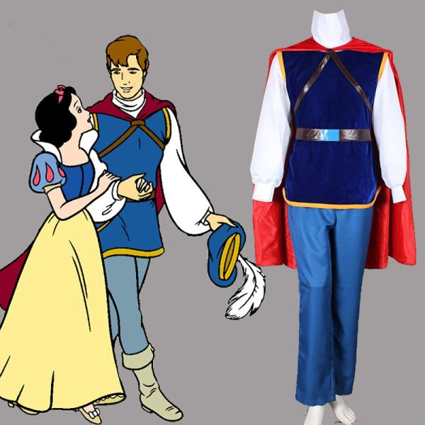 Prince Florian Cosplay Costume Snow White And Seven