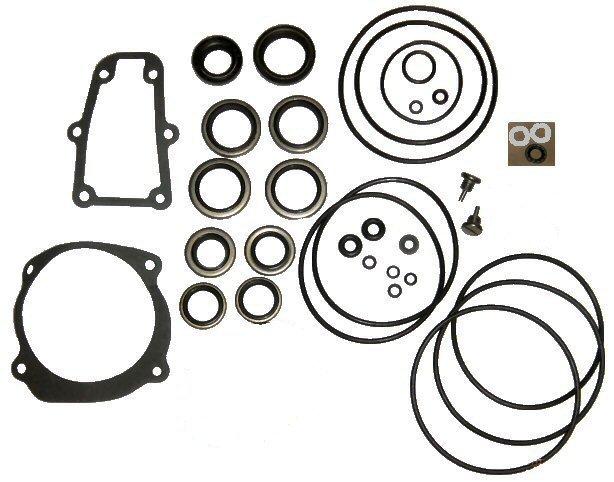 Complete Lower Unit Seal Kit for Johnson Evinrude V4, V6