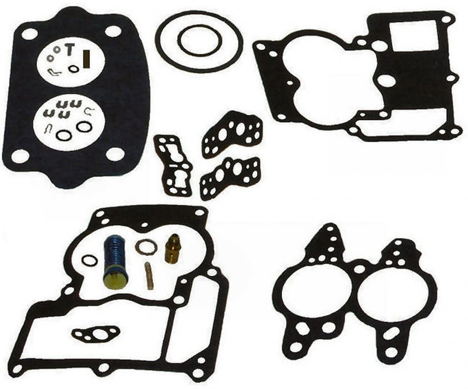 2BBL Rochester Carburetor Repair Kit for Inline 4 and 6