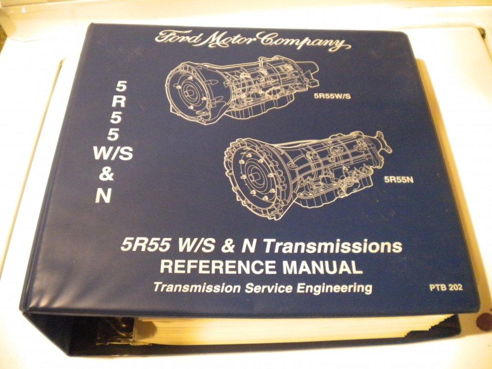 medium resolution of ford 5r55w 5r55s 5r55n transmission service manual transmissions service engineering repair
