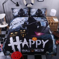 4PCS King Size Halloween Star Wars #10 Bedding Set