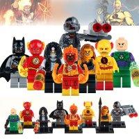 DC Super Villains Minifigures Reverse Flash Batman Quinn ...