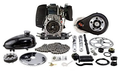 49cc 4G T Belt Drive Complete Gas Powered Engine Kit
