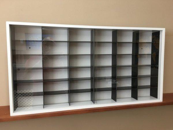 1 18 Display Cabinet Case Diecast Models Vitrine Dust Free