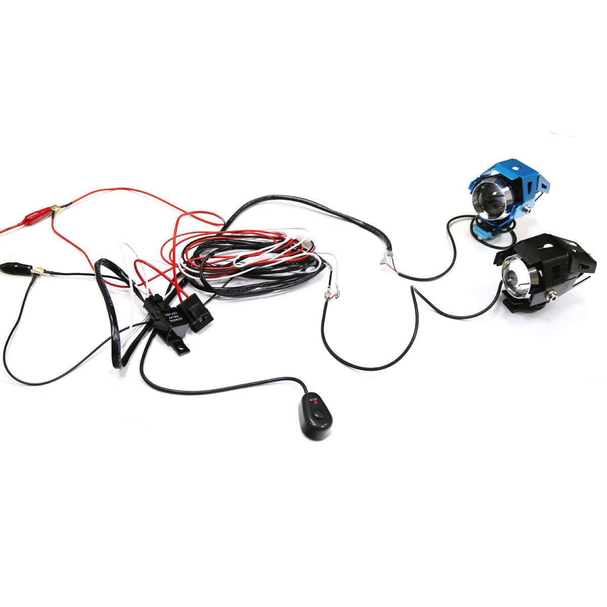 1x Wiring Harness Kit Line 40A 12V Switch Relay Harness