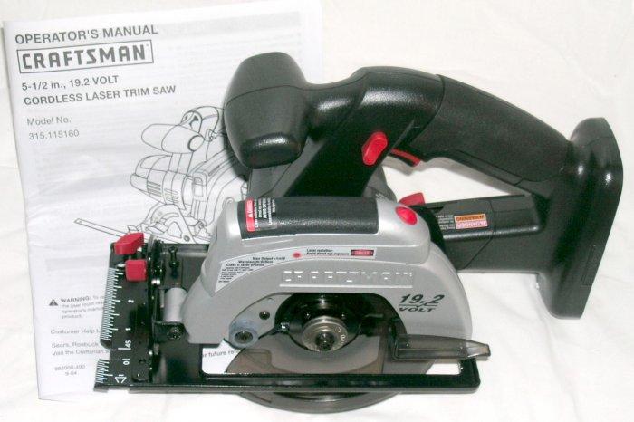Sears Circular Saw Model 315