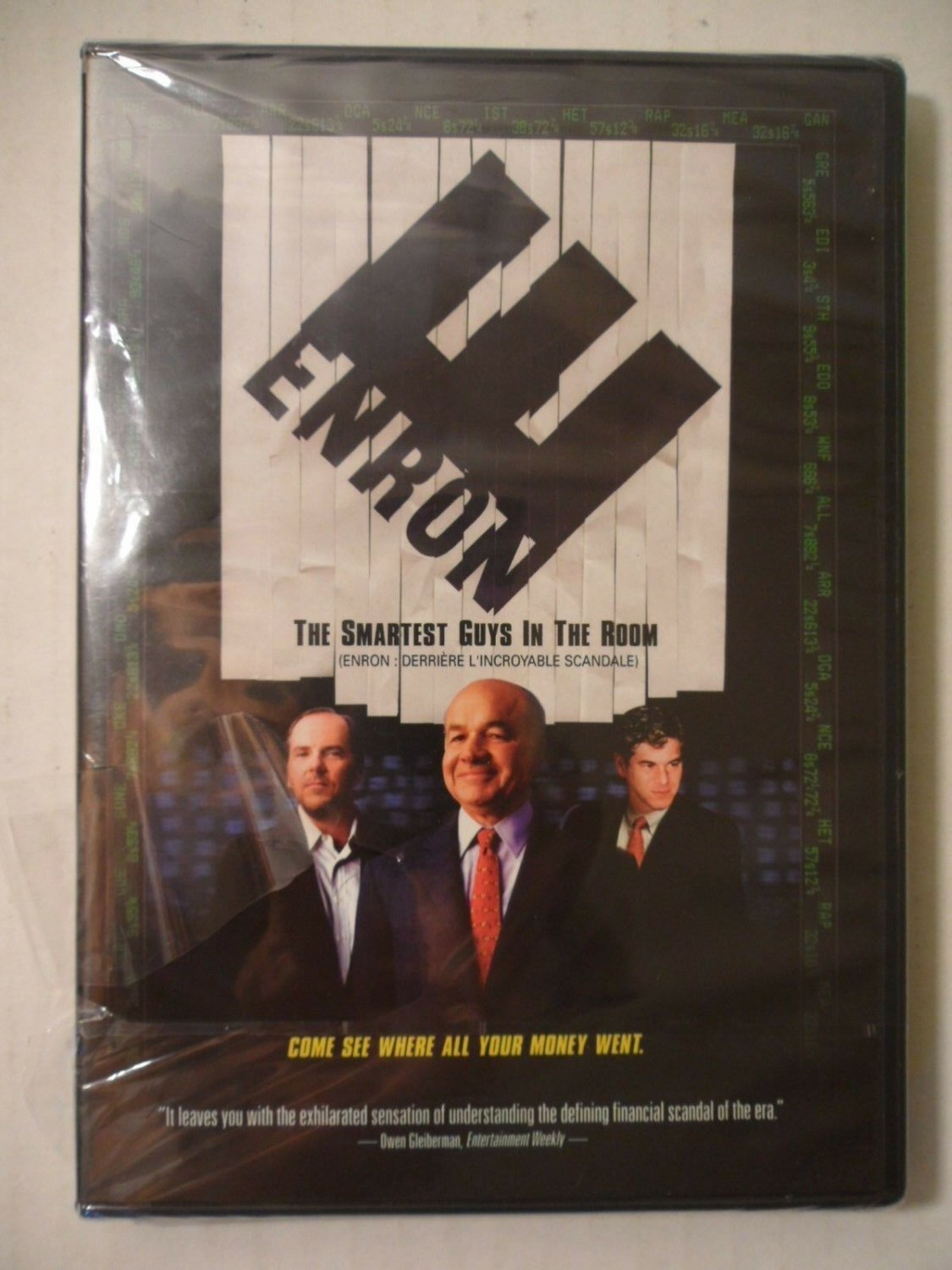 Enron The Smartest Guys In The Room DVD 2005