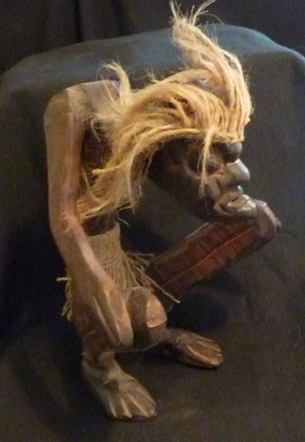 Indonesian Wood Carvings - Ugly & Uglier