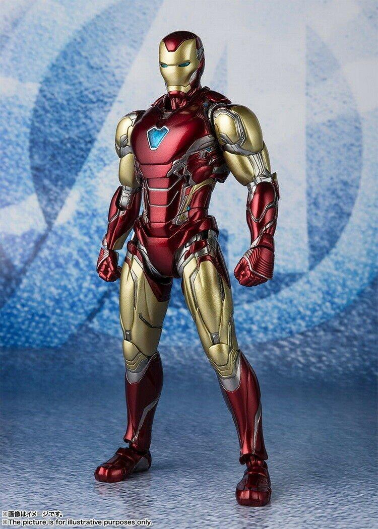 Bandai SHF S.H.FIGUARTS AVENGERS: ENDGAME - IRON MAN MARK 85 Tony Stark MK85