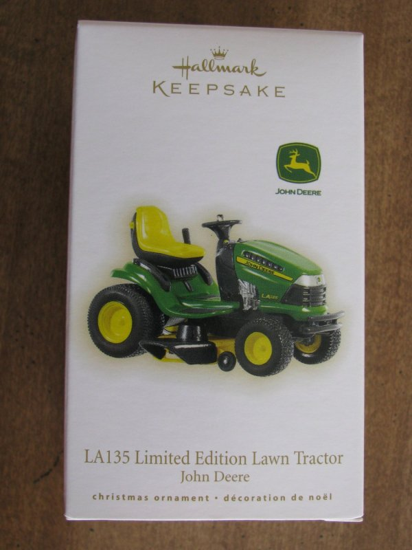 2009 La135 Limited Edition Lawn Tractor John Deere