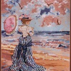 Hummingbird Diagram Of Color Towbar Wiring 13 Pin Victorian Seashore Tapestry/needlepoint Kit