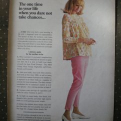 Kitchen And Mixer Bars Islands Pregnant Women Dietary Guide Dairy Council Vintage Ad 1968