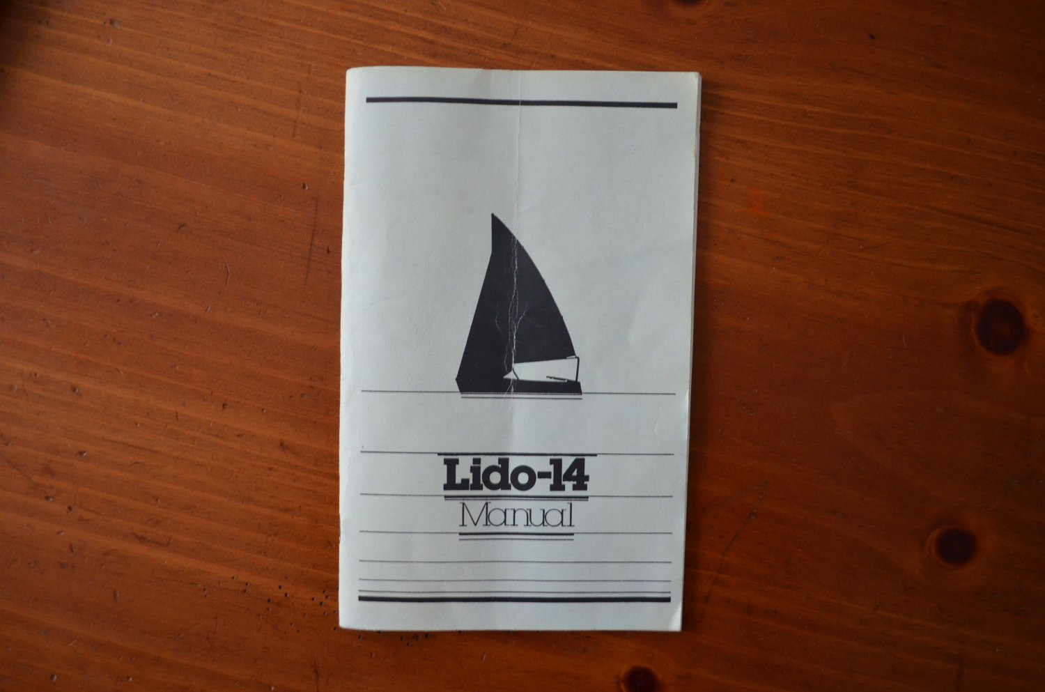 Lido14 Manual Booklet UCI Sailing Instructional Manual