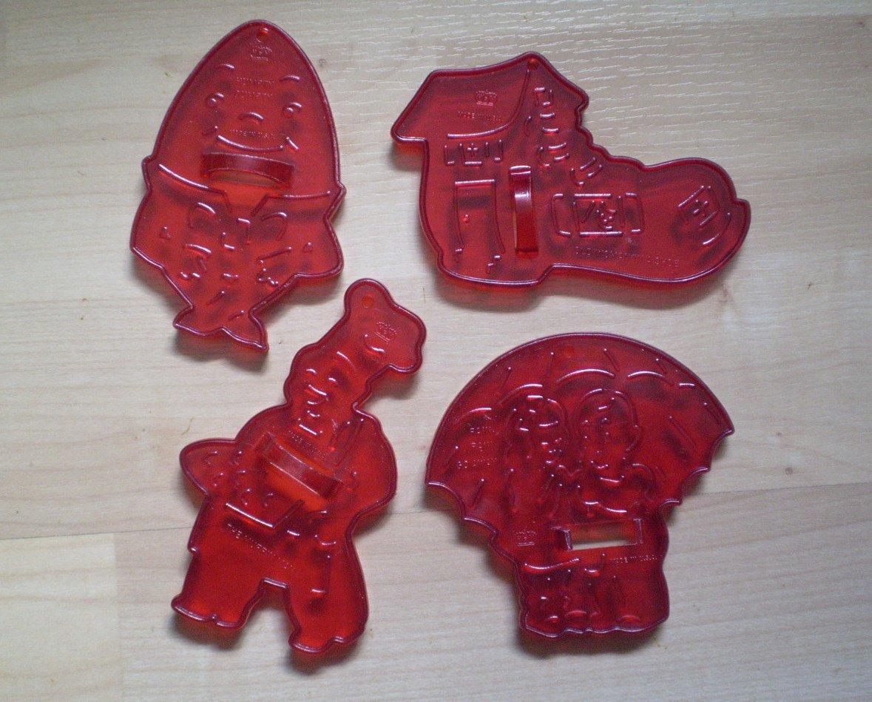 Lot Vintage Hrm Cookie Cutters Nursery Rhyme Humpty Dumpty