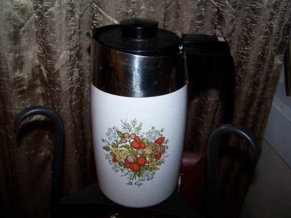 Corning Ware Electric Percolator 10 Cup Coffee Pot With