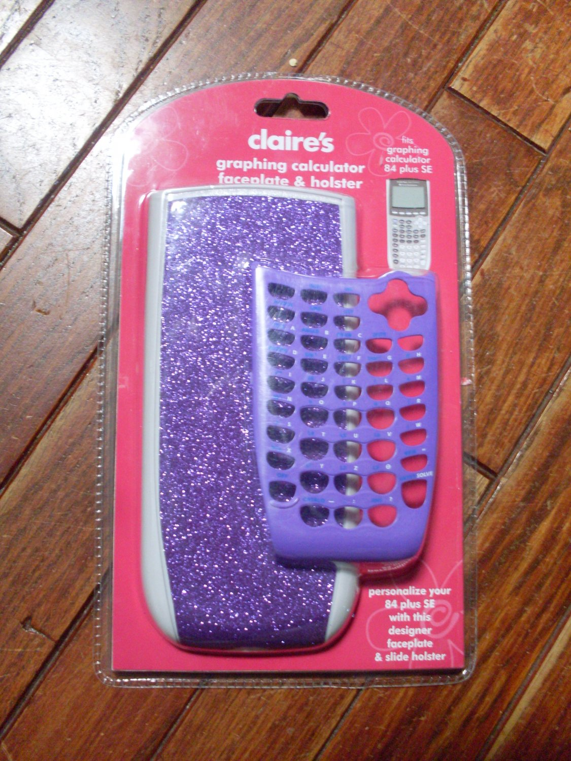 SOLD  Claires TI 84 plus SE calculator face plate