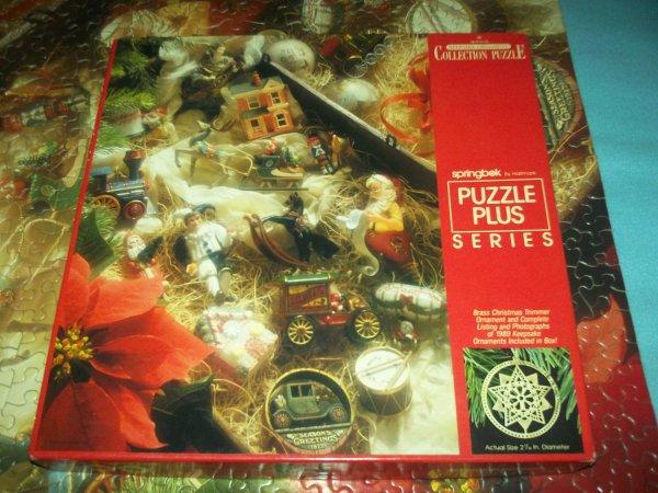 Vintage Hallmark Springbok Jigsaw Puzzle