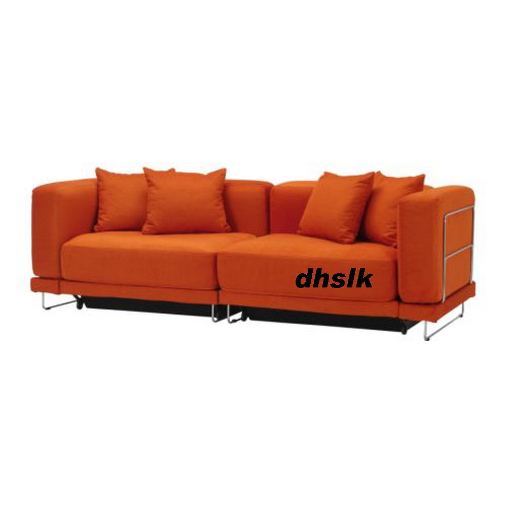 ikea tylosand sofa slipcovers for sofas with three cushions bed cover everod orange tylÖsand ...
