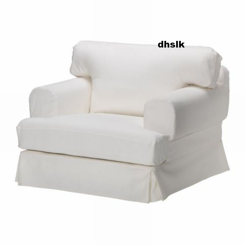 chair covers ikea uk banquet cheap hovÅs hovas armchair slipcover cover gobo white