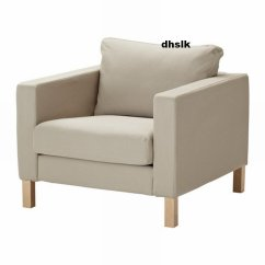 Karlstad Sofa Cover Uk How Much Does A Bernhardt Cost Ikea Armchair Slipcover Chair Sivik Beige