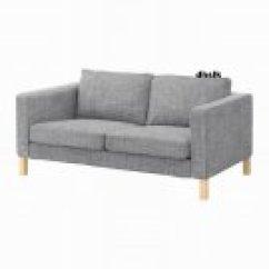Karlstad Chair Cover Isunda Gray Acorn Lift Ikea Stenklover Twin Duvet Set Polka Dots Red StenklÖver
