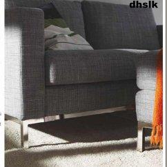 Karlstad Sofa Bed Cover Grey Italian Sofas In London Ikea 2 Seat Slipcover Loveseat Isunda