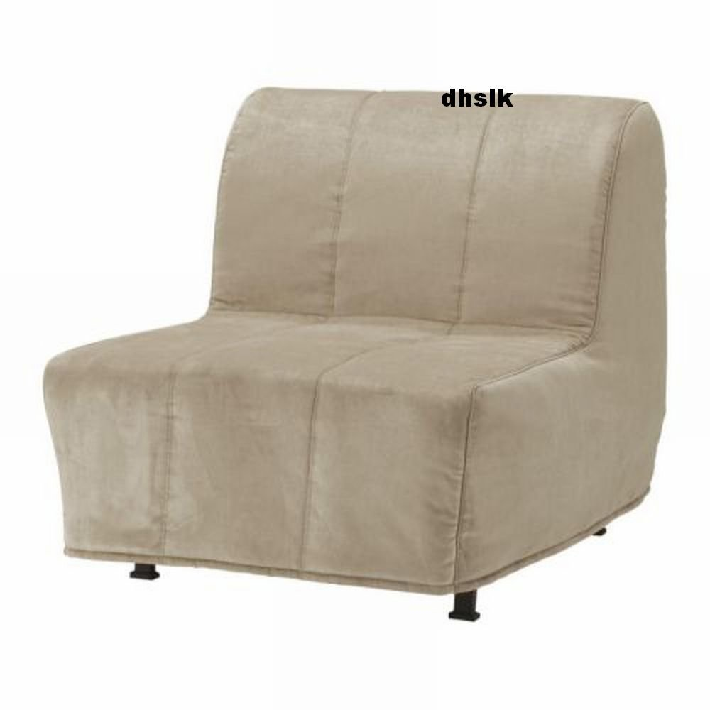 spandex chair covers canada baby chairs for infants ikea lycksele bed slipcover cover henan beige quilted