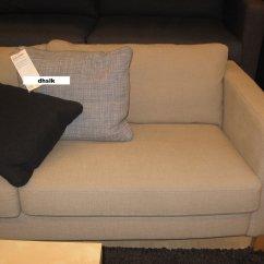 Sofa Slipcover Ikea Antique Chippendale Karlstad Cover Lindo Beige Lindö 3 ...