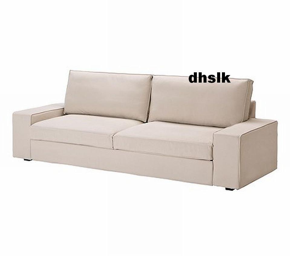 slipcover sofa australia contemporary and loveseat set ikea kivik bed cover ingebo light beige ...