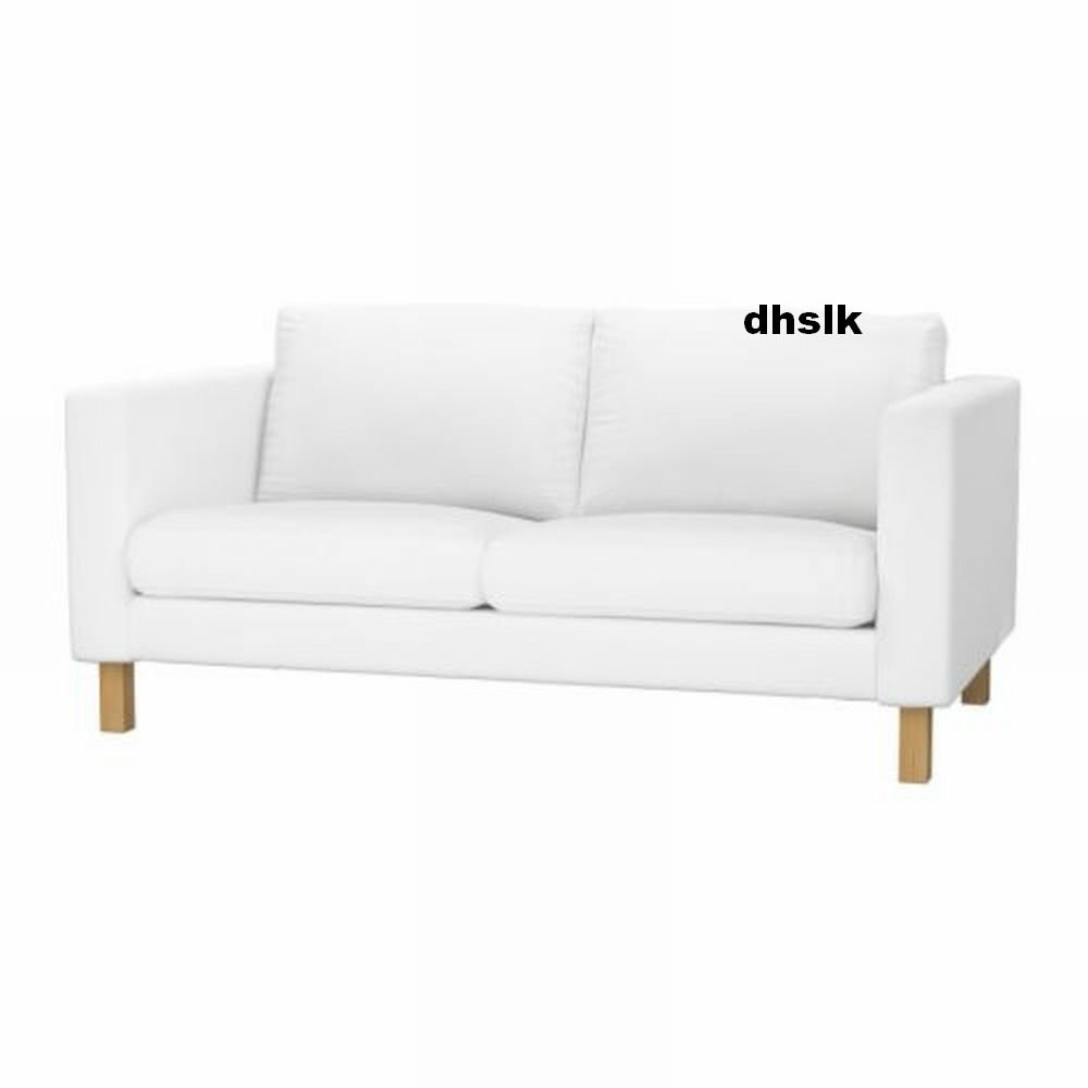 sofa covers karlstad foam inserts for sofas ikea 2 seat loveseat slipcover cover ...
