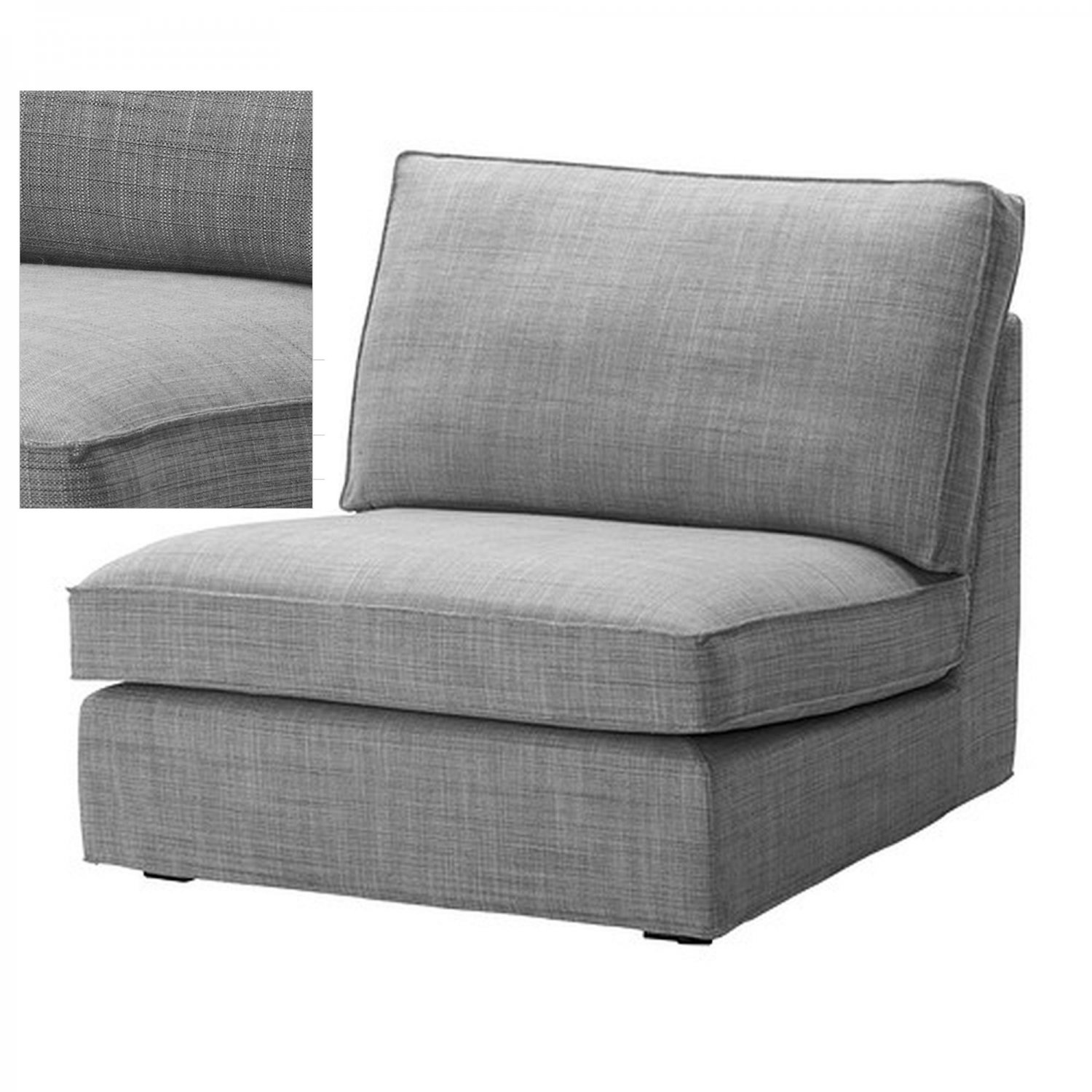 IKEA KIVIK 1 Seat Sofa SLIPCOVER OneSeat Chair Cover
