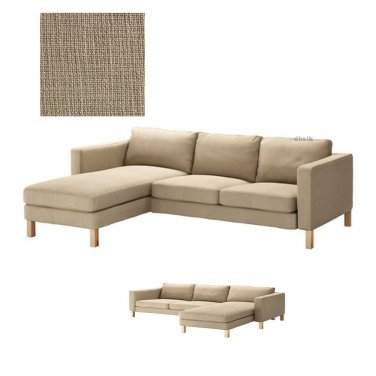 sofa chaise lounge slipcover sectional sofas clearance toronto ikea karlstad 2 seat loveseat and ...