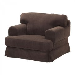 Ikea Hovas Sofa Ashley Larkinhurst Reclining Armchair Chair Slipcover Cover Graddo Brown