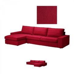 Kivik Sofa Chaise Eames Dimensions Ikea 3 Seat W Longue Slipcover Cover
