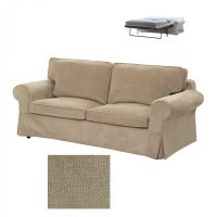 IKEA EKTORP 2 Seat Sofa Bed SLIPCOVER Sofabed Cover ...