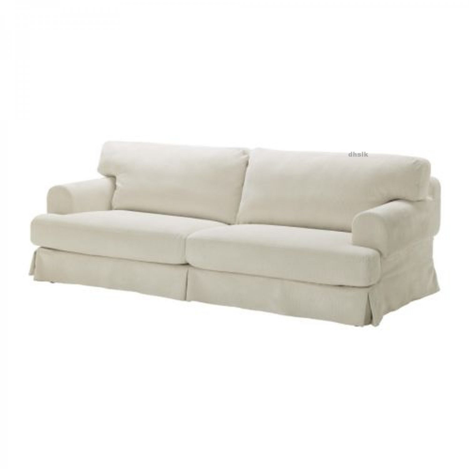 off white slipcover sofa simply sofas crows nest ikea hovÅs hovas cover graddo beige
