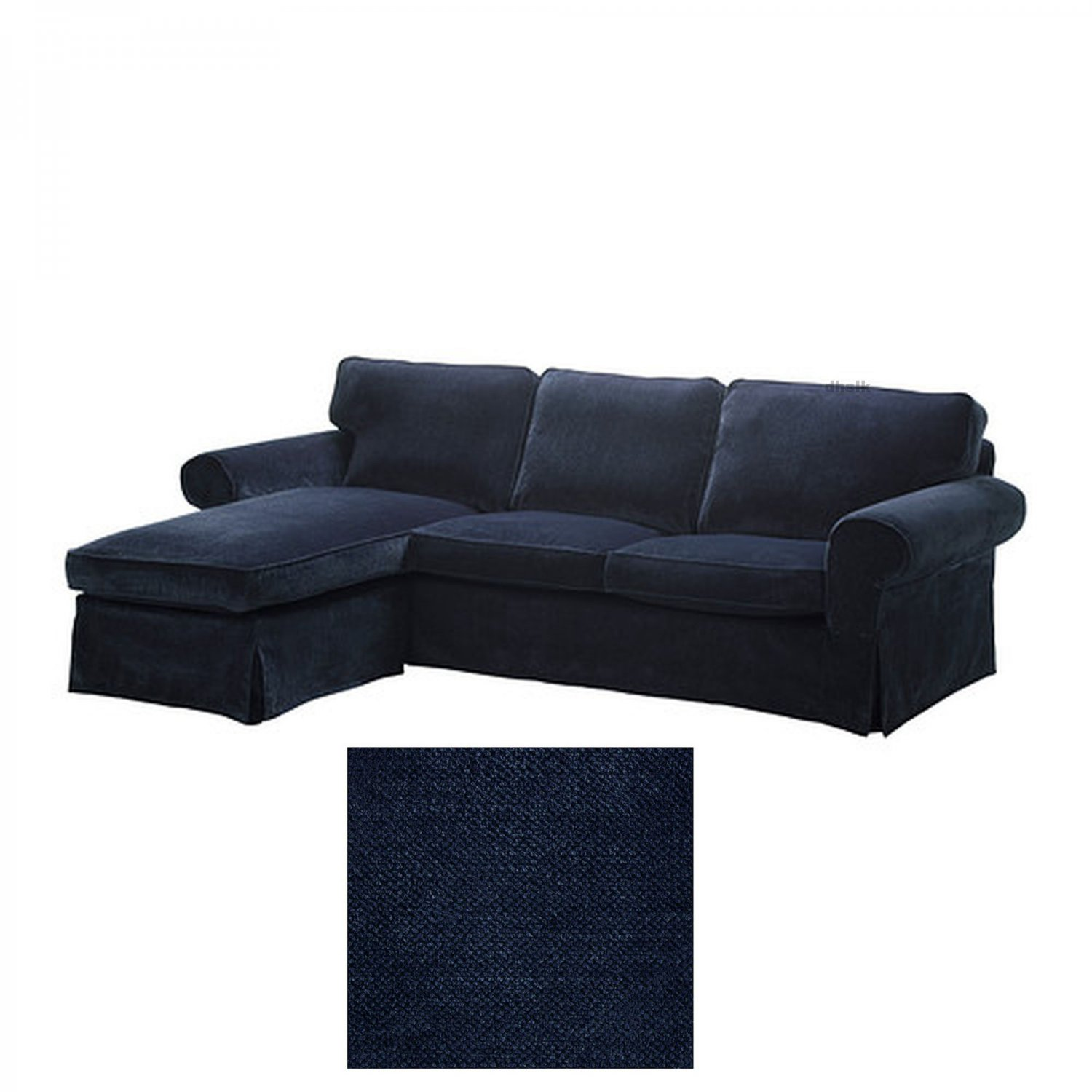 ikea karlanda sofa covers uk semi circle singapore ektorp loveseat with chaise cover slipcover