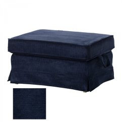 Black Sofa Chaise Longue Corner Bed From Poland In Uk Ikea Ektorp Bromma Footstool Cover Ottoman Slipcover ...