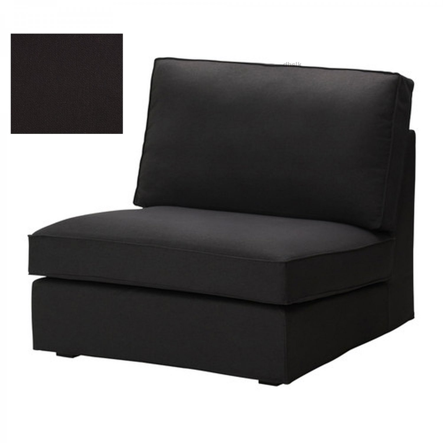 ikea chair covers accent chairs at target kivik 1 one seat sofa slipcover cover idemo